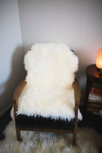 White Quartz Tantric Daily Sheepskin w/ Free Sheepskin Brush