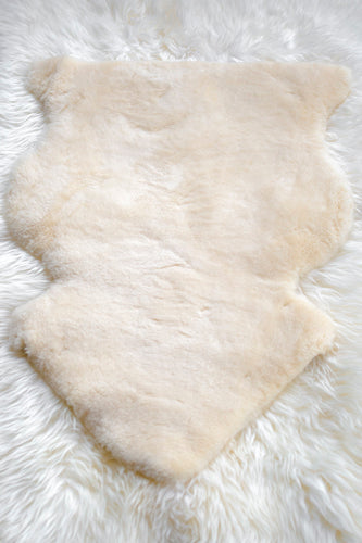 Golden-White 'Medical' Shortwool XL Sheepskin