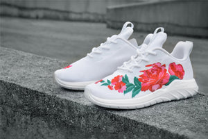 Flower Couples Fashion Sneakers - Soulsfeng