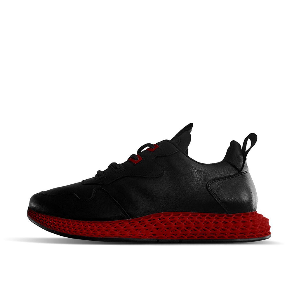 Soulsfeng 2020 Fashion 3D Sneakers Collection Black Red - Soulsfeng