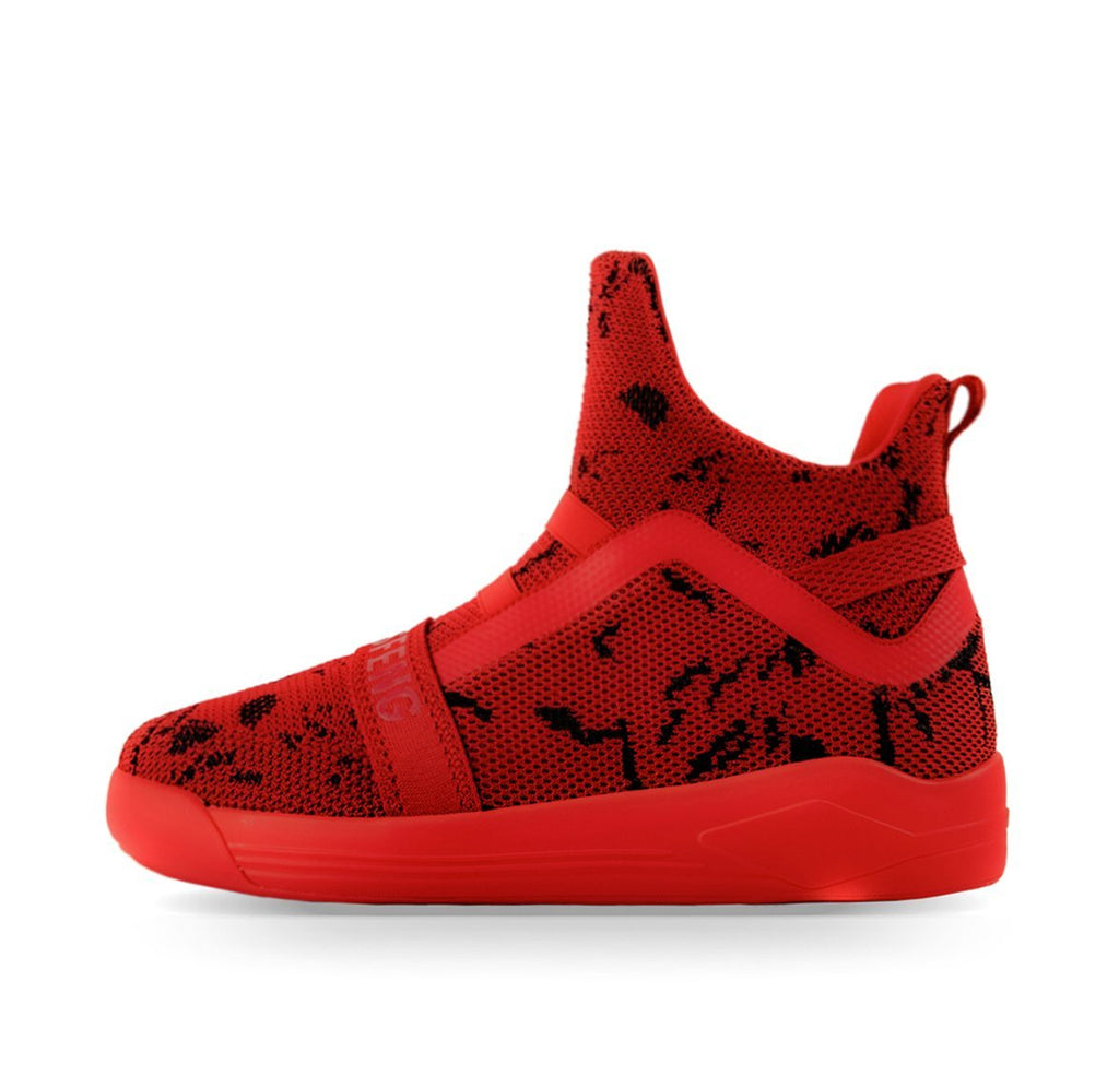 Soulsfeng Mesh Knit High Tops Red