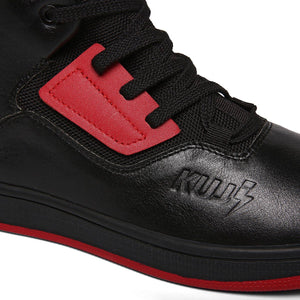 Solered Black High Tops - Soulsfeng