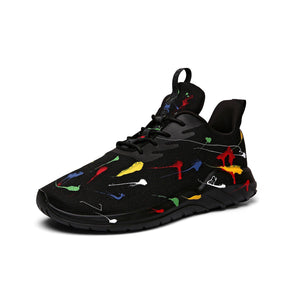 lightweight olympic spray sneaker - Soulsfeng