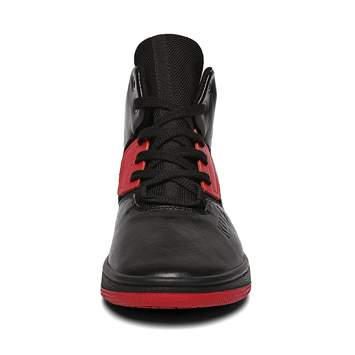 Solered Black High Tops