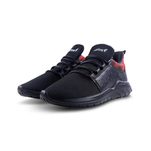 Human Runner Lifestyle Black Red - Soulsfeng