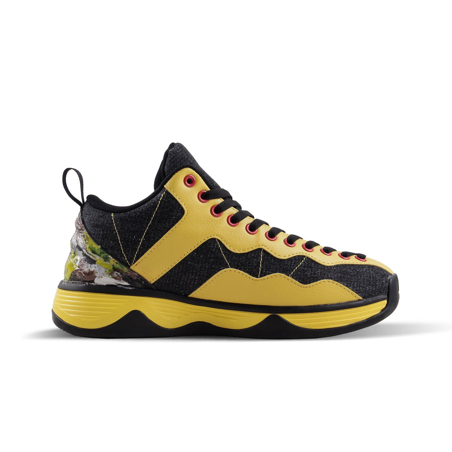 2020 Men's Basketball Shoes Yellow - Soulsfeng