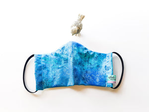 Blue Bliss Fabric Face Mask