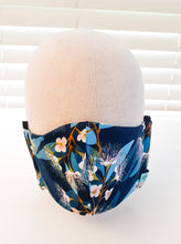 Blue mist Fabric Face Mask