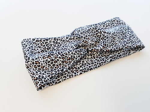 Cheetah twist headband
