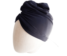 Navy Blue Ladies Turban Headwear