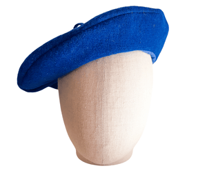 Ladies Italian Wool Felt Beret