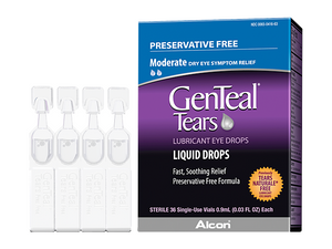 Genteal Tears (36 PF Vials) - DryEyeShop