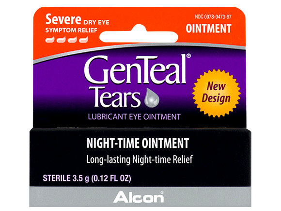 Genteal Lubricant Eye Ointment - DryEyeShop