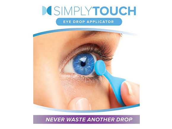 SimplyTouch Eye Drop Applicator