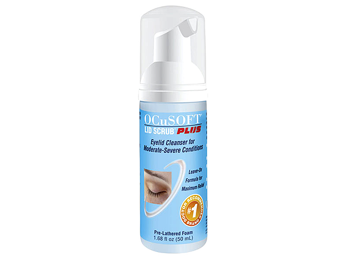 OCuSOFT Lid Scrub PLUS Foaming Eyelid Cleanser - DryEyeShop