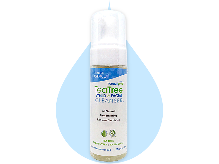 Image of Gentle Formula 1% Tea Tree Eyelid & Facial Cleanser by Eye Eco