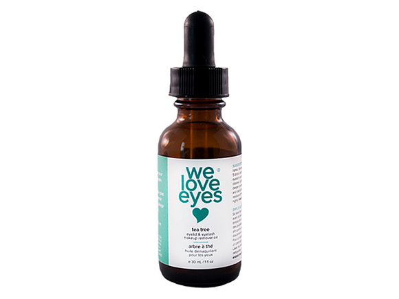 Tea Tree Eye Makeup Remover Oil by WeLoveEyes - DryEyeShop