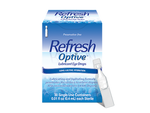 Refresh Optive (30 PF vials) - DryEyeShop