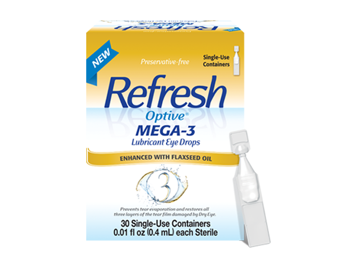 Refresh Optive MEGA-3 (30 PF vials) - DryEyeShop