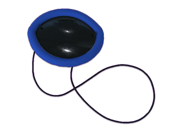 Plastic eye patch with silicone cushion - DryEyeShop