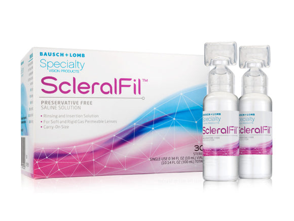 ScleralFil 10mL Preservative Free Saline Solution