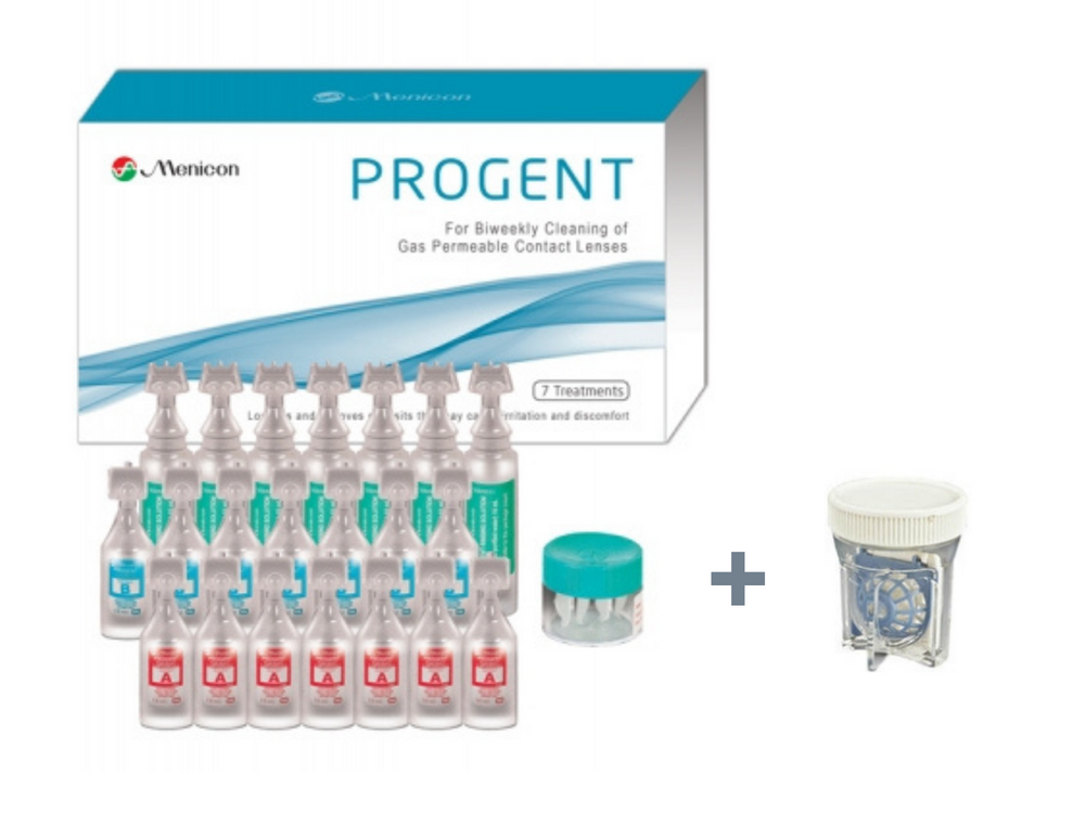 PROGENT Scleral Lens Cleaner Kit