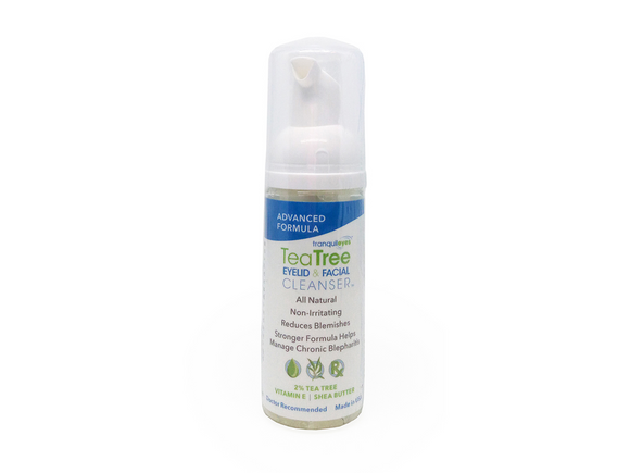 Advanced Formula 2% Tea Tree Eyelid & Facial Cleanser by Eye Eco - DryEyeShop