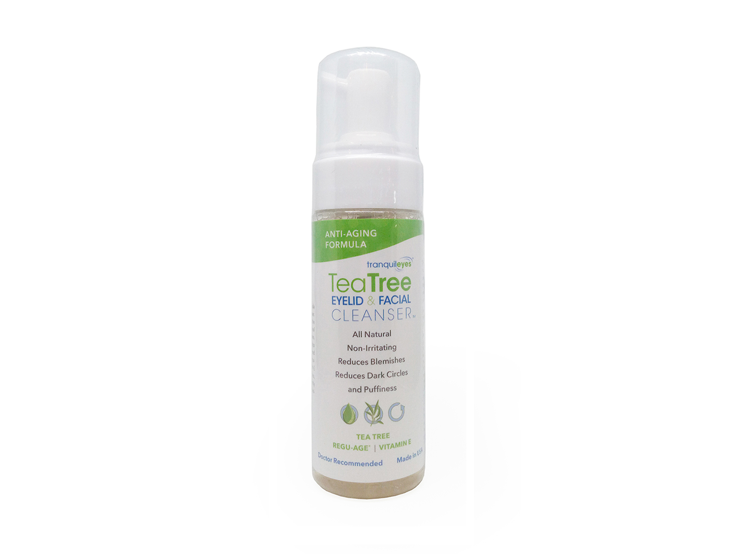Image of Anti-Aging 1% Tea Tree Eyelid & Facial Cleanser by Eye Eco