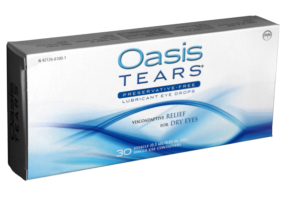 Oasis Tears (30 PF vials) - DryEyeShop