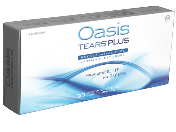 Oasis Tears Plus (30 PF vials) - DryEyeShop