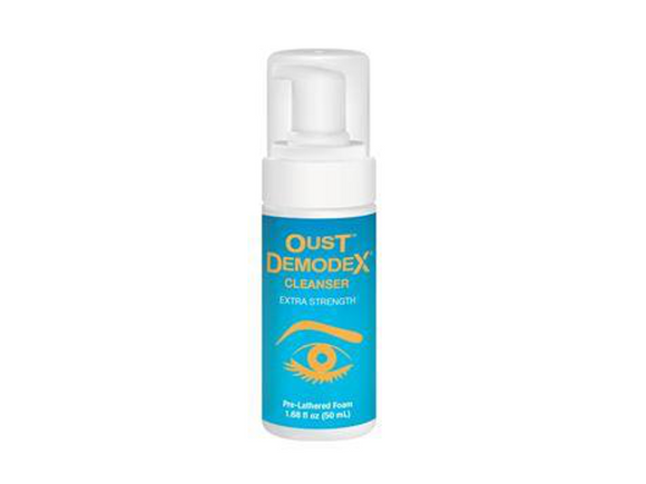 OcuSoft Oust Demodex Cleanser 50mL - DryEyeShop