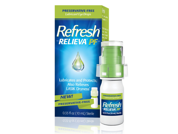 Refresh Relieva (Preservative-Free) - DryEyeShop