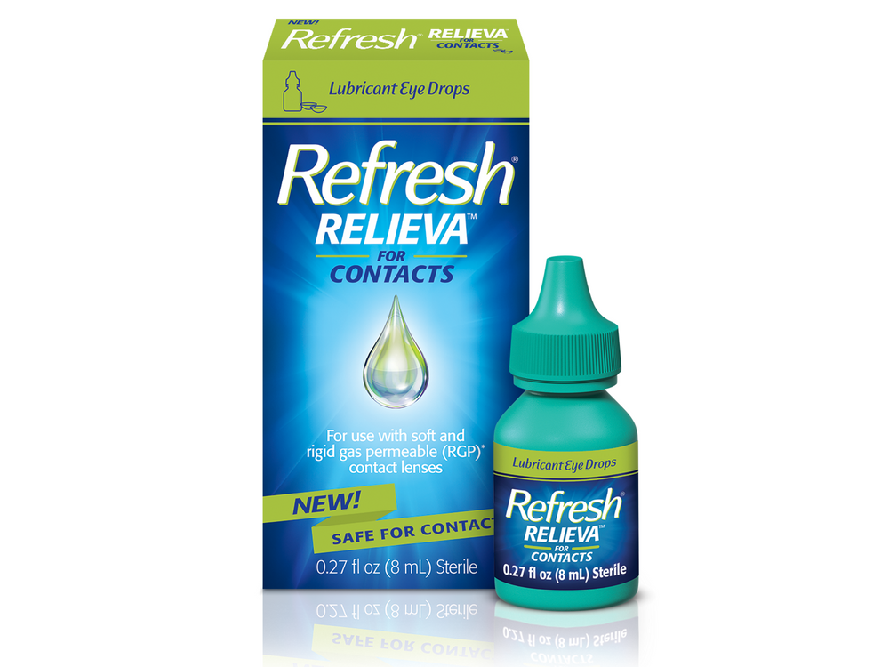 Refresh Relieva for Contacts - DryEyeShop