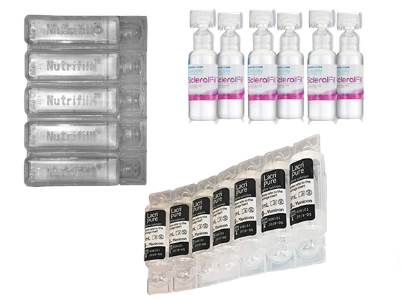 Preservative Free Saline Sampler Kit - DryEyeShop