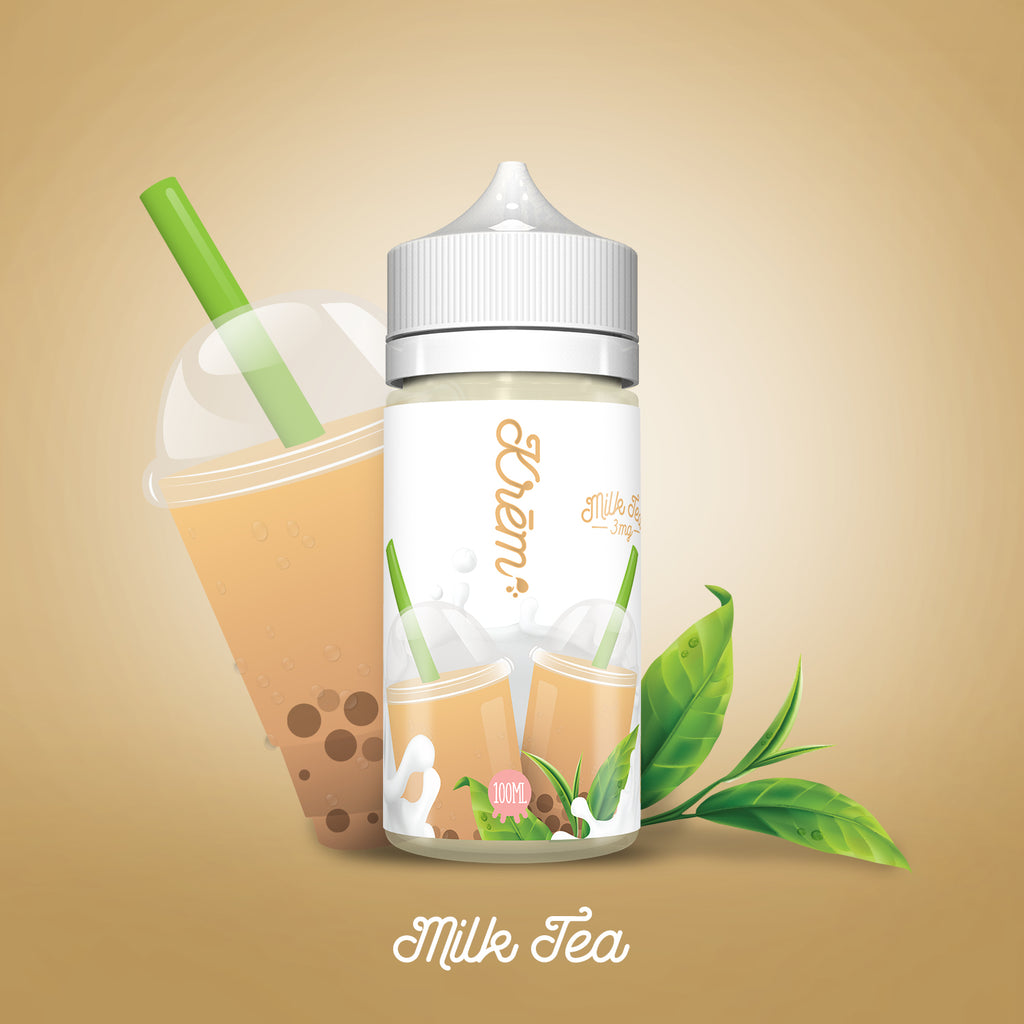 100ml - Skwezed - Krem Milk Tea