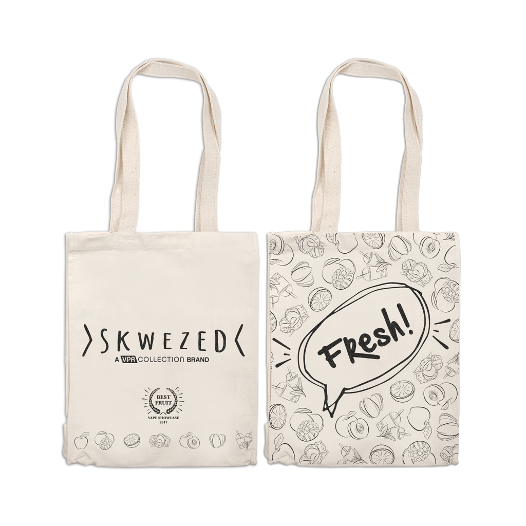 "Promo Item - Skwezed ""Fresh!"" Tote Bag"