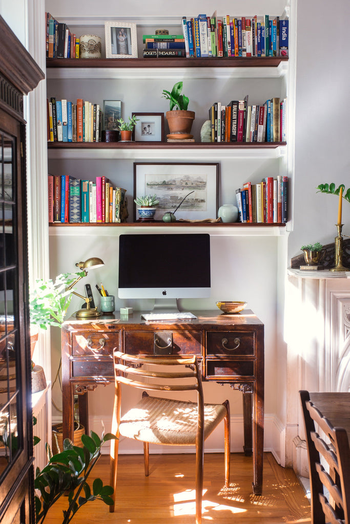Indigo & Ochre Office Nook