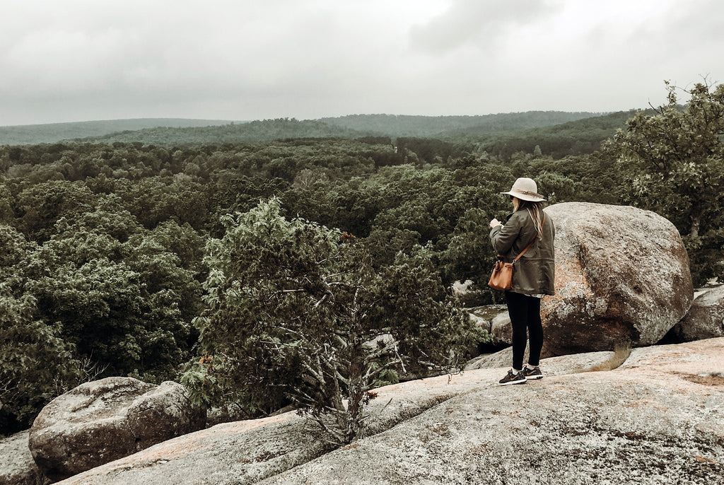 A trip to Elephant Rocks State Park about 1 1/2 hours away south of St. Louis, Missouri.  A great place to unplug and connect with nature.  Amber Seagraves Studio Seagraves