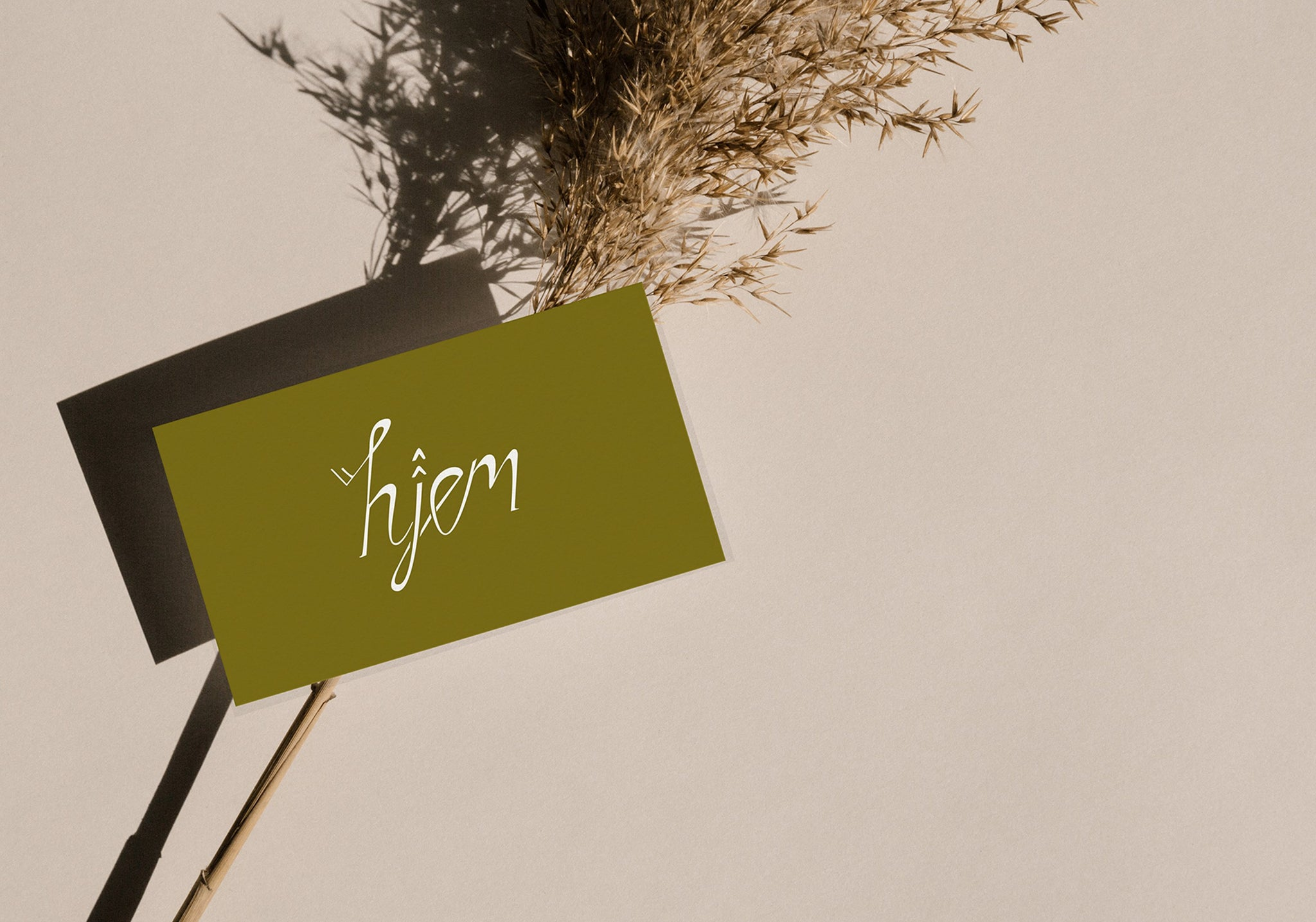 Hjem by Studio Seagraves