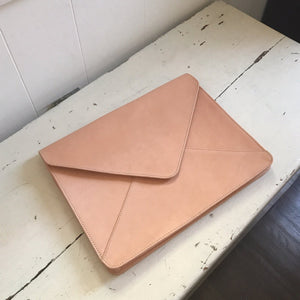 Anders Leather Laptop Case by Amber Seagraves