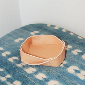 Habitat Leather Tray by Amber Seagraves