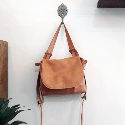 Krissa Backpack Bag made veg leather by Amber Seagraves