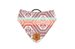 Amaranth Teton Slip-On Dog Bandana | Water Resistant | Durable