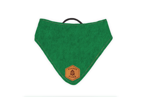 Arbor Green™ Slip-On Dog Bandana | Water Resistant | Durable