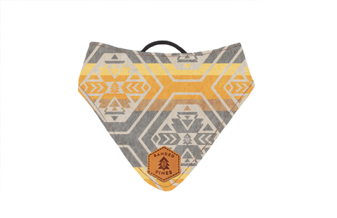 Canary Teton Slip-On Dog Bandana | Water Resistant | Durable