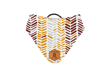 Fletching™ Slip-On Dog Bandana | Water Resistant | Durable