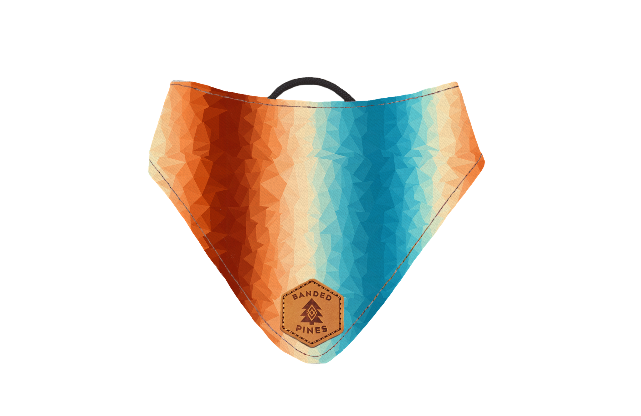 Halcyon Crystals Slip-On Dog Bandana | Water Resistant | Durable