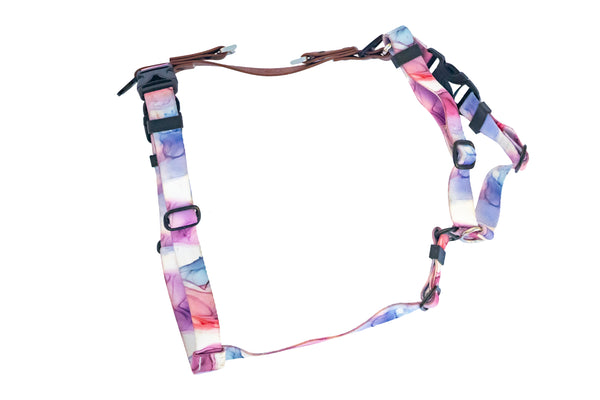 Banded Pines Webbing Harness with FI tracker end links