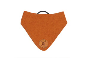 Ignis Orange™ Slip-On Dog Bandana | Water Resistant | Durable