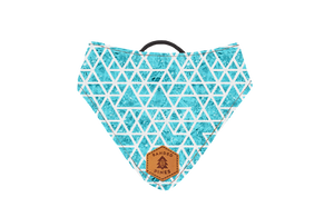 Shattered Ice Slip-On Dog Bandana | Water Resistant | Durable
